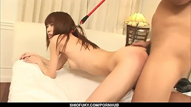 Ibuki gets creampied in scenes of rough Japanese s - More at Pissjp.com