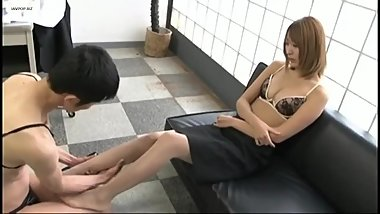 japanese feet worship
