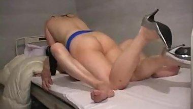 Japanese femdom on top fucks hospital patient guy