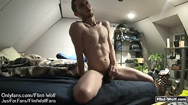Flint Wolf Ultimate daily Cum Challenge day 27