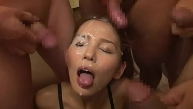 Japanese Bukkake Part I