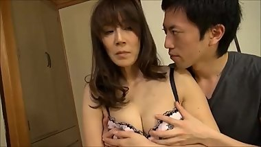 Hot Asian Foreplay With Cute Japanese And Her Hairy Pussy