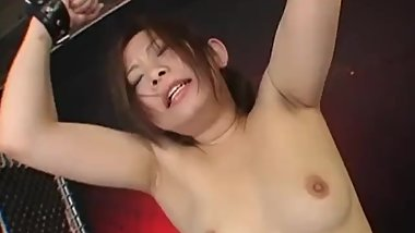 Professional Submissive Riko In Asian Threesome BDSM Action With Toys