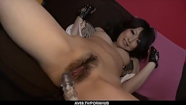 Asuka Mimi amazing hardcore Japanese home porn - More at 69avs com