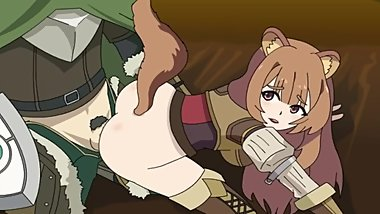 rising of the shield hero hentia, Raphtalia gets Fucked