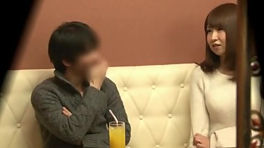 japanese wife get fuck with other man in front of her husband