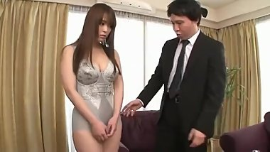 Big Tits Japanese Beautiful Wife YUINO Promotion Fucked for Her Dress