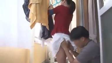 Asian mature milf get flattering help from her neighbor -2 On HdMilfCam.com