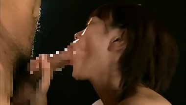 Japanese crazy handjob to cum and piss
