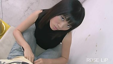 Japanese girl blowjob POV