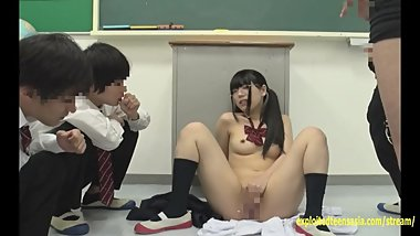 Jav Idol Teen Curious About Boys She Gets Bukkake Face And Fucked On A Desk