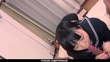 Schoolgirl Yuri Sakurai amazing sex on live cam - More at Slurpjp.com