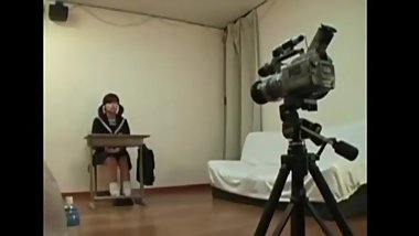 Asian Japanese schoolgirl farts