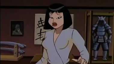 Animated Karate Girl