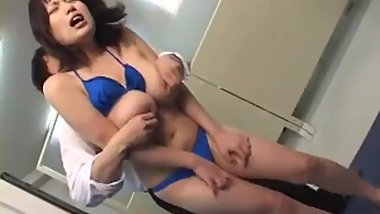 JAV CMNF voluptuous idol tryout failure Subtitled