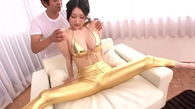 Busty Azumi Mizushima is an amazing flexible long legged japanese babe