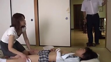 7 - Japanese Milf Take Care Of Her Boy - LinkFull In My Frofile
