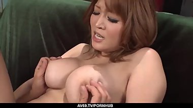 The perfect anal hardcore for sensual Yuki Touma - More at 69avs.com