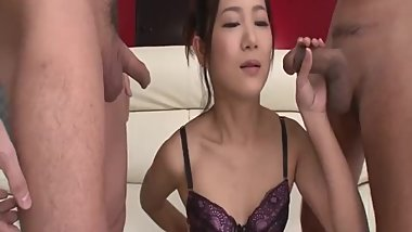 Kyoka Sono fantasy threesome to grant her a lot - More at Slurpjp.com