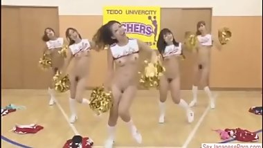 Japanese Cheerleader Timestop
