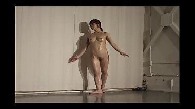 Nude Japanese Ballet Dance Inside Hospital