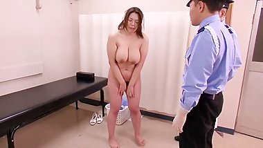 Jav Milf force to have sex in jail