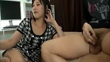 Japanese girl first meet cum in mouth 3
