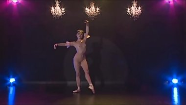 Asian Nude Ballet Dancer