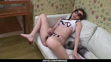 Sakiko tries cock in really hot POV - More at javhd.net