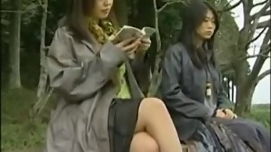 Japanese Lesbian groped in Bus - Anyone know the Movie/Names?