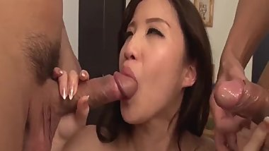 Full Japanese anal threesome with - More at javhd.net