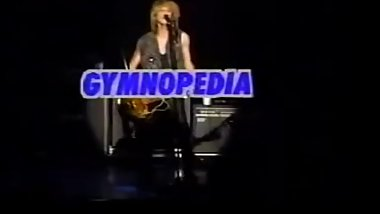 GYMNOPEDIA - LONELY BOY (Live 1989) Rock File on Video Vol.5