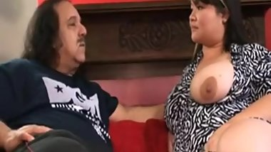 Mixed Japanese Irish bbw hairy Kelly Shibari fucked by Ron Jeremy. [Rare]