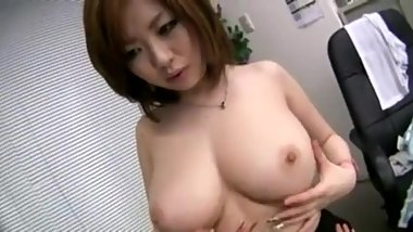 young and busty Asian girl