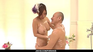 Chihiro Akino strong XXX adult play with horny man