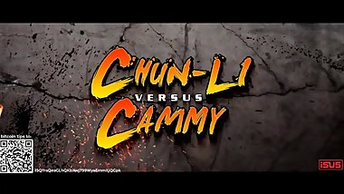 Wrestling 0019 Chun Li vs Cammy