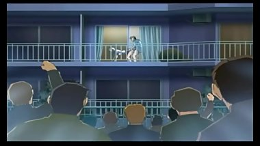Anime Balcony (Uncensored, Eng subtitles)